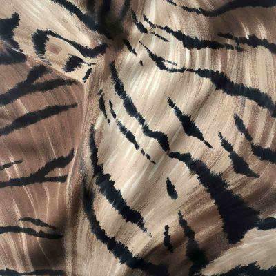Lenço de Bolso Brown Zebra
